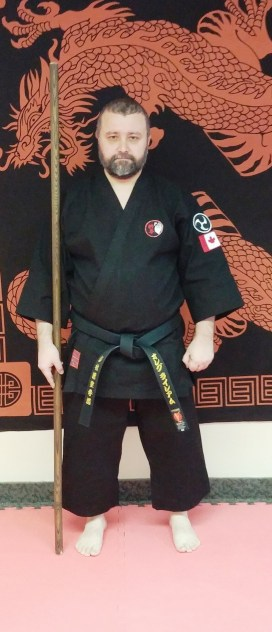 Before first dedicated Kobudo training session